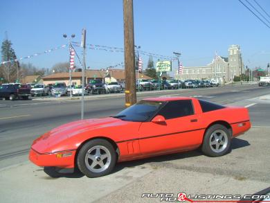 1985 Chevrolet Corvette Base for sale